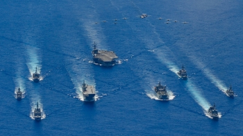 quad member countries stimulate drills in indo pacific