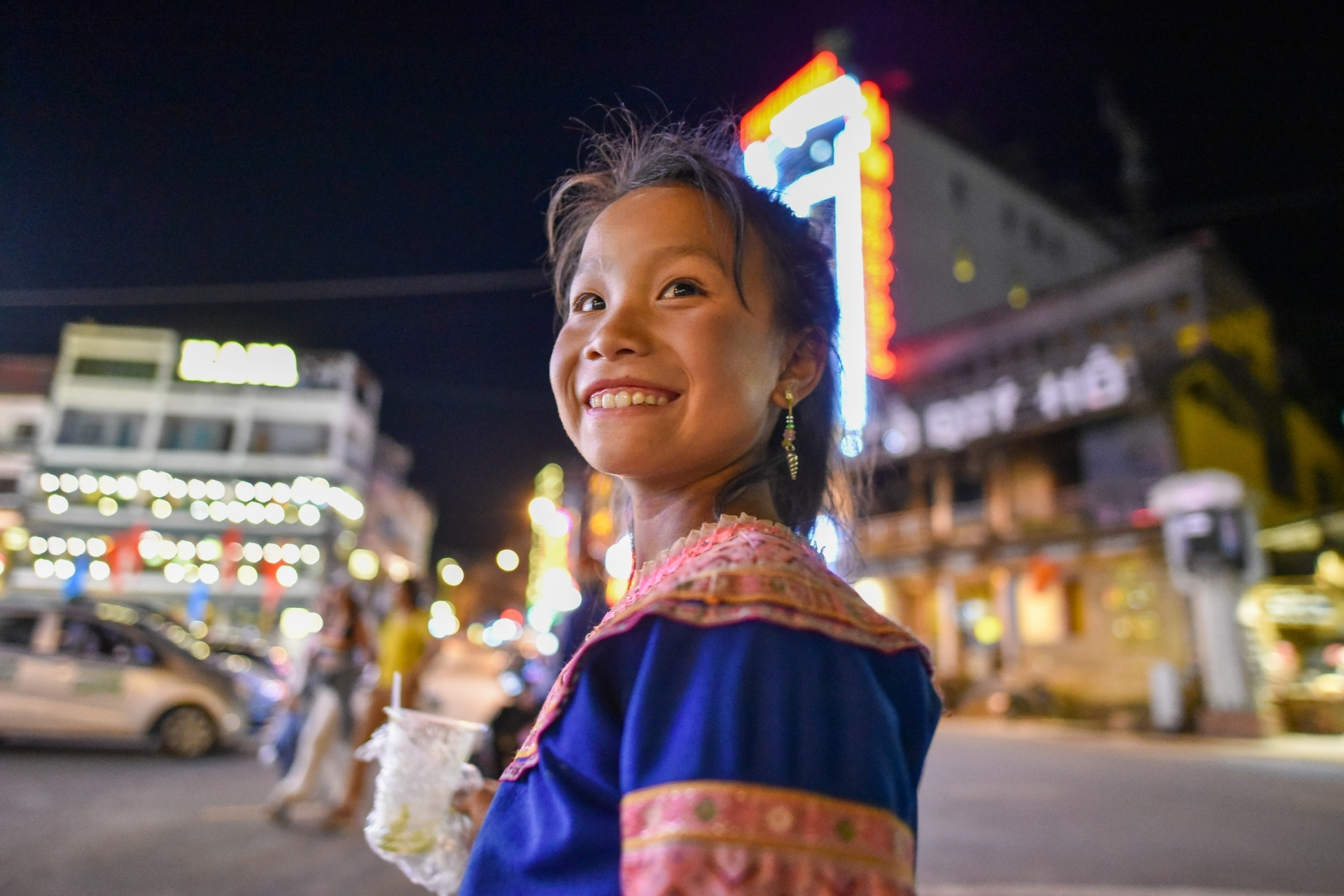 Innocent beauty of minority ethnic children in Northern Vietnam