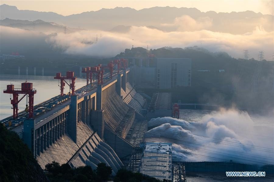 China massive flood update: Floodwater discharged from Three Gorges Dam (Images)