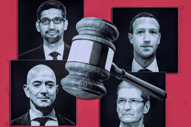 world breaking news today july 29 four tech giants going on trial for liability issues