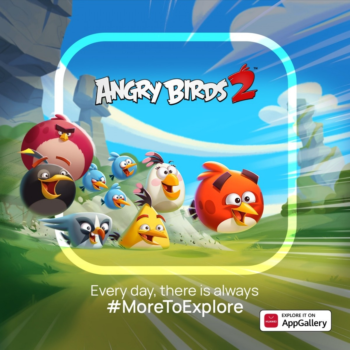 Angry birds 2 arrives on Appgallery