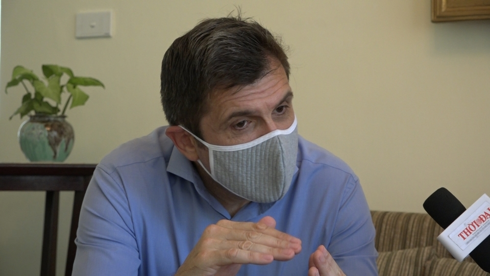 Expat: I'm lucky to be in Vietnam during pandemic time