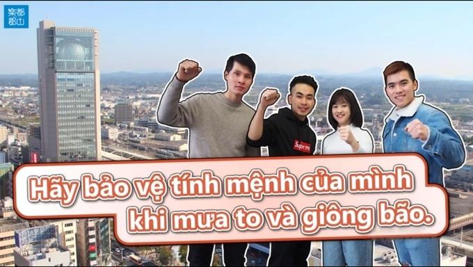 Overseas Vietnamese help Japanese make subtitles for disaster awareness-raising videos