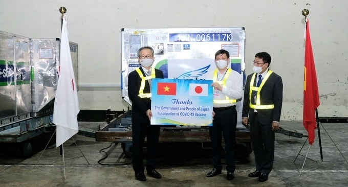 More Covid Vaccine Arrive in Vietnam