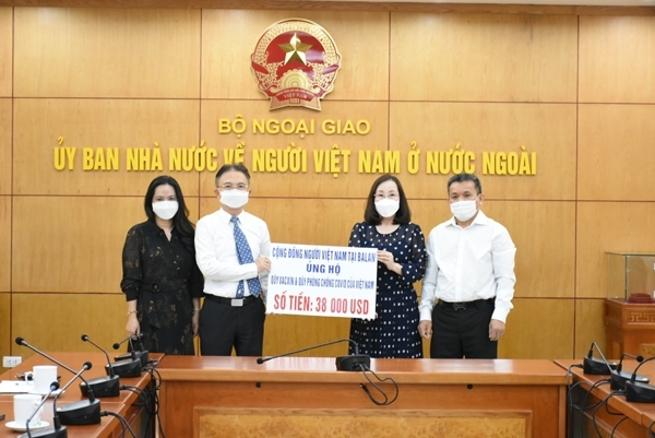 More Donations from Overseas Vietnamese to Covid-19 Vaccine Fund