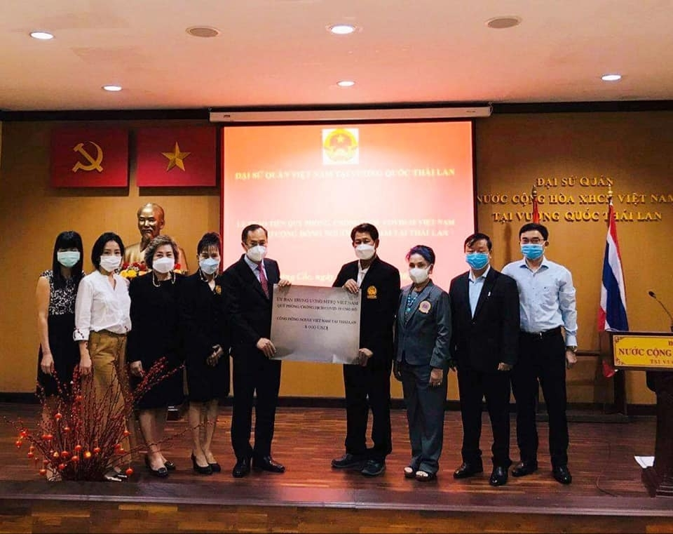 Donations from Overseas Vietnamese Continue to Assist Homeland