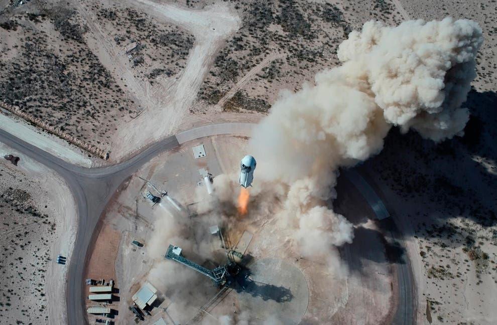 Jeff Bezos' to make historic flight into space