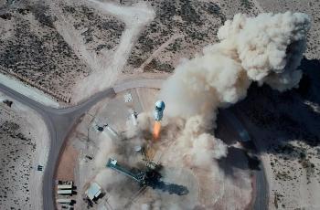 Amazon Big Boss Jeff Bezos to Make Historic Flight into Space