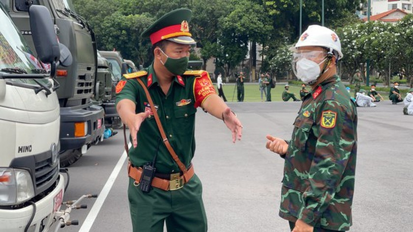 Ho Chi Minh City Launches One-week Citywide Sanitization and Kicks Off New Vaccination Campaign