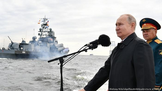 Putin says Russian Navy can Carry Out