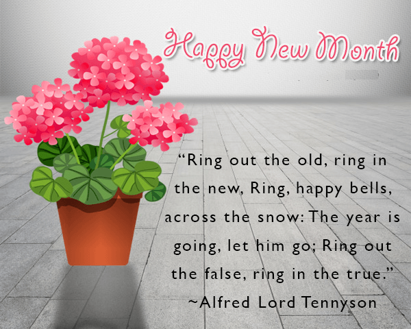 Happy New Month: Best Wishes and Quotes