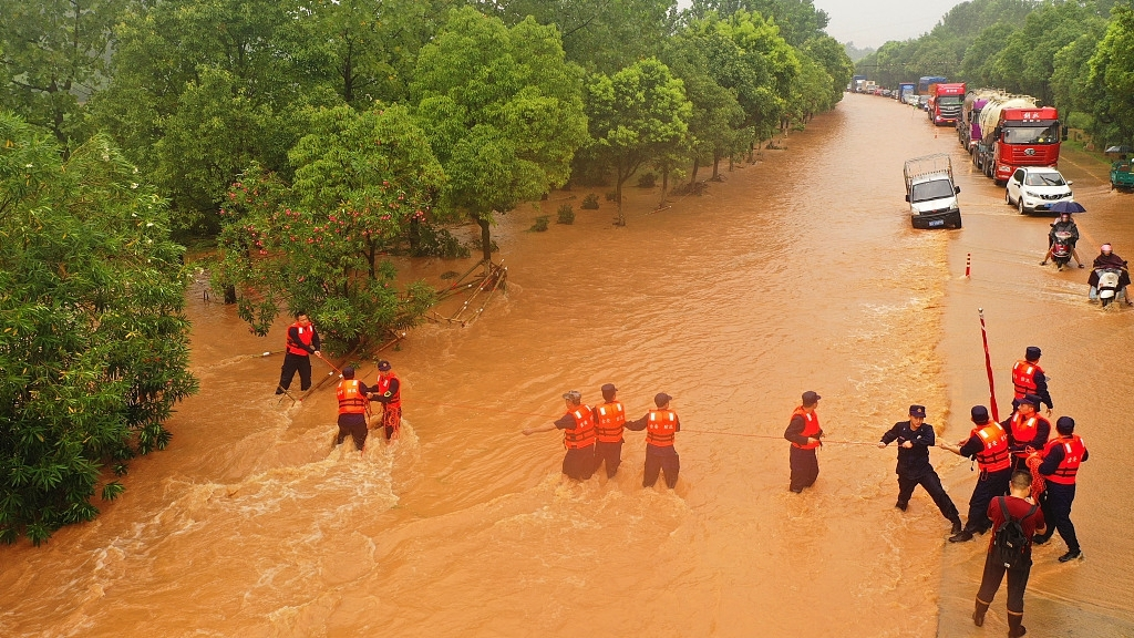 The country has so far been pulling out its all efforts to contain the flood