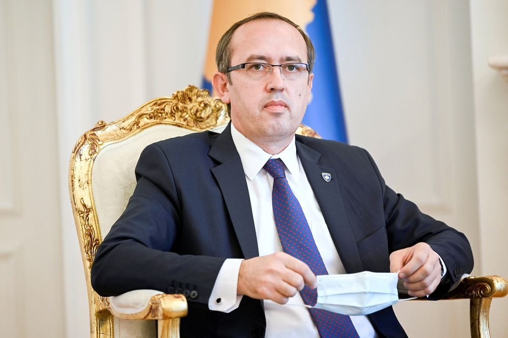 Kosovo Prime Minister Avdullah Hoti said on Sunday he has contracted COVID-19 and will self-isolate at home for two weeks