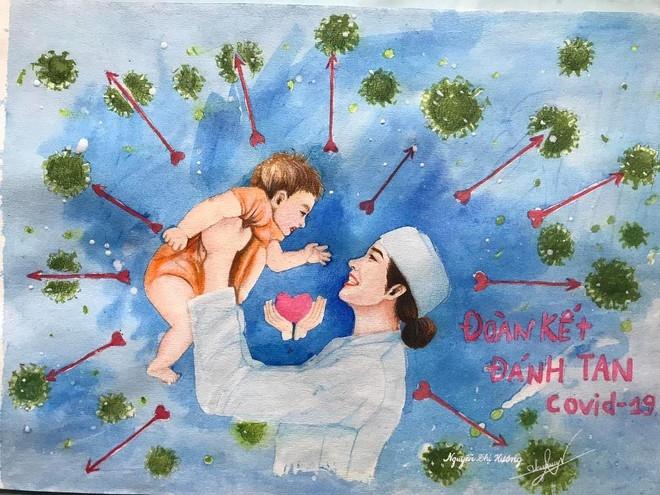 artful propaganda paintings to cheer covid 19 frontline heroes on