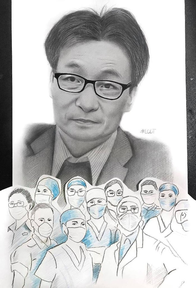 Le Cong Duy Tinh's photo portraying Deputy Prime Minister