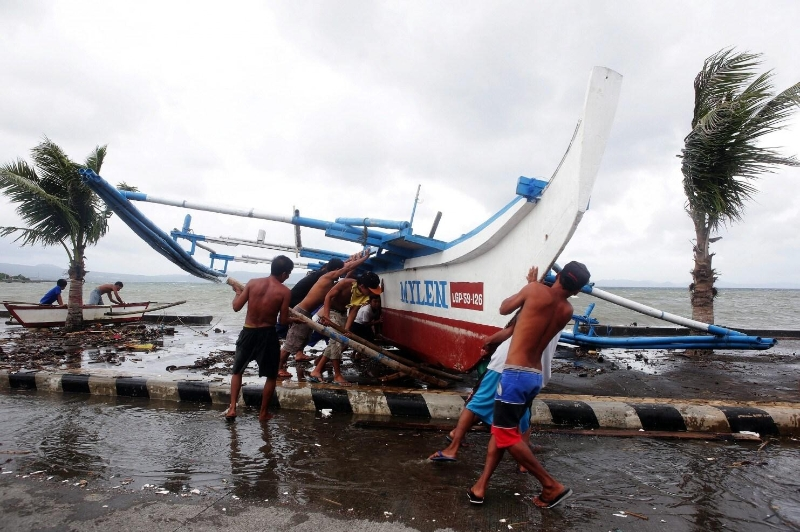East China residents are embracing for Typhoon Hagupit