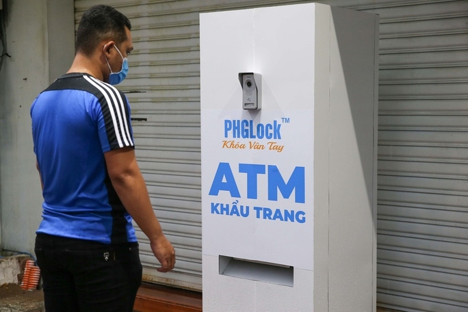 free face mask atm makes debut in hochiminh city vietnam
