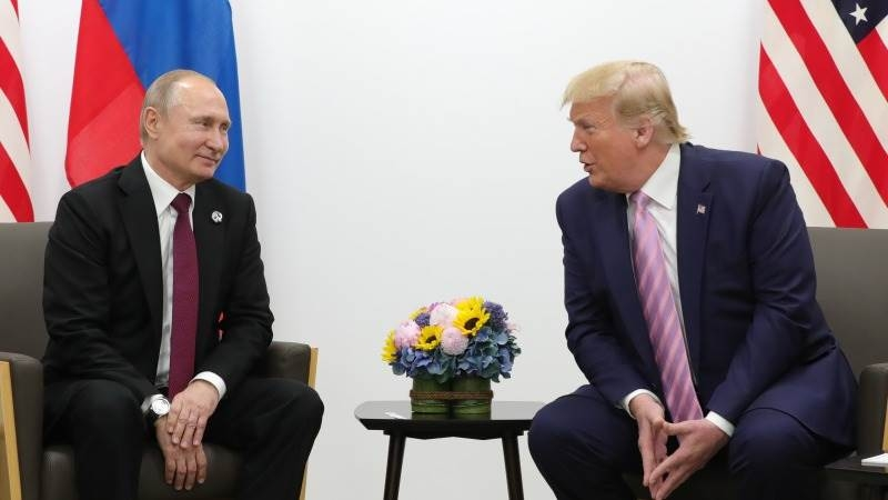 Administration officials are weighing a time and place for a Trump-Putin summit