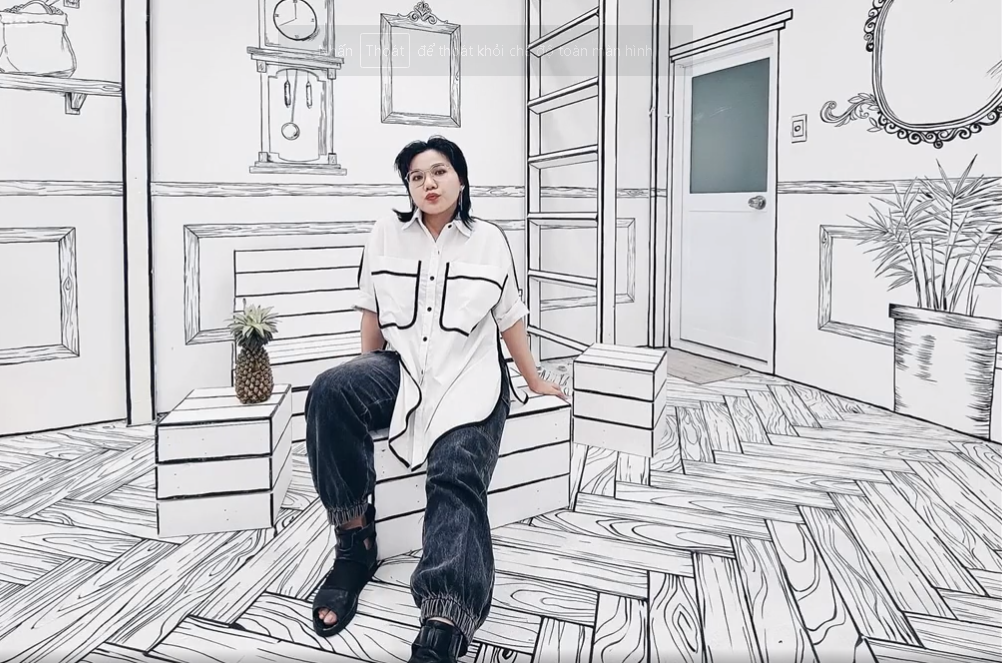 contoured lines turn vietnamese cafe into anime world