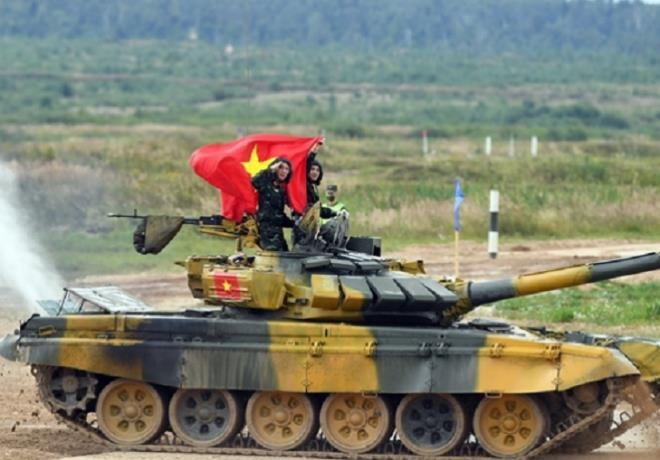 in pictures vietnams impressive shooting performance in 2020 tank biathlons qualifying match