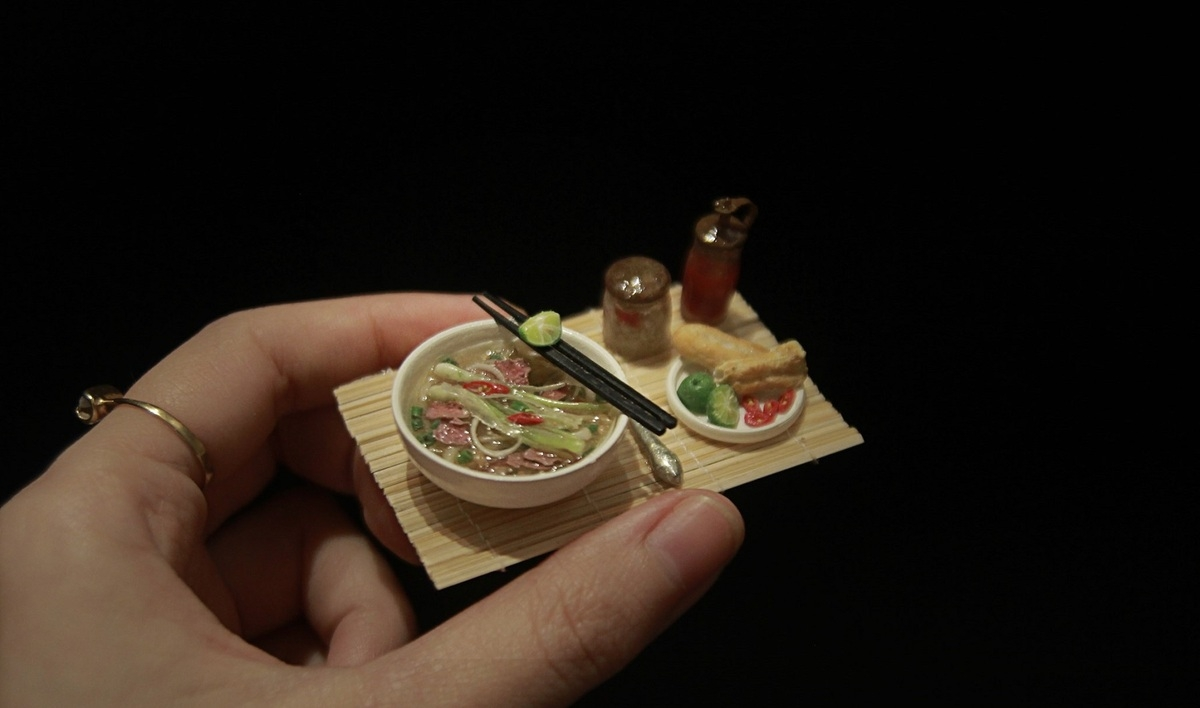 vietnamese girl breathes new life into miniature food clays