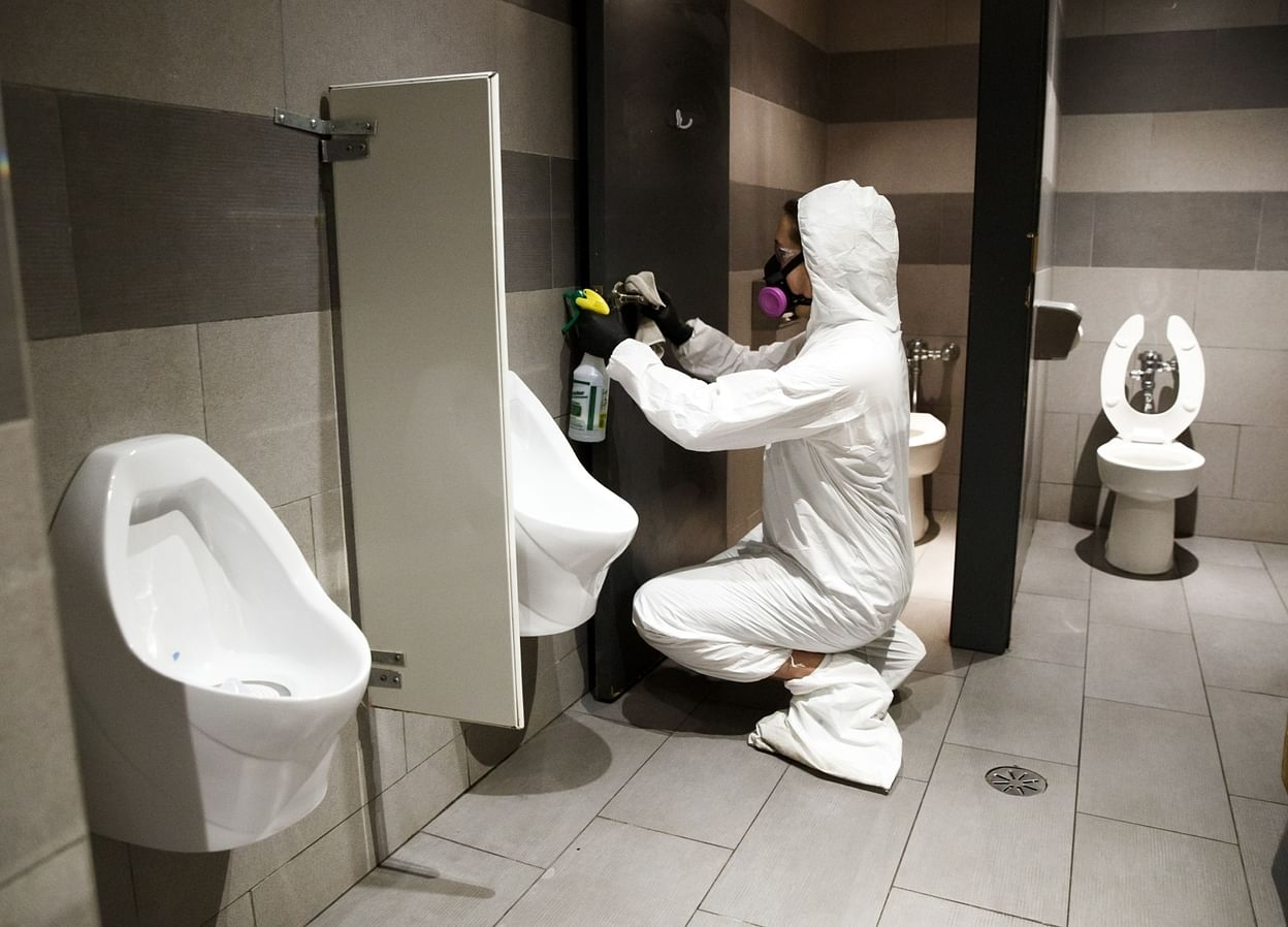 new study coronavirus may travel through toilet and pipes