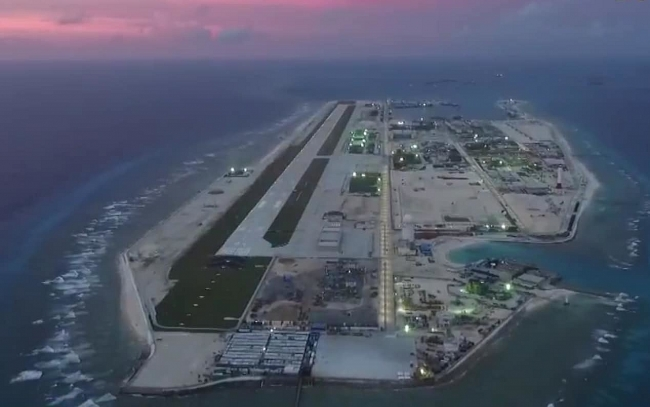 Bad profile of Chinese entities helping build military islands on Bien Dong Sea