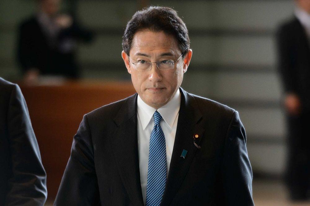 former foreign minister, Fumio Kishida,