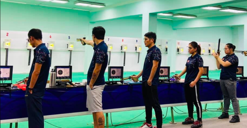 Vietnamese markmen join online international shooting tournament