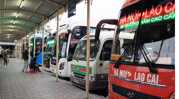This year, the number of bus goers and travelers might be lower than in previous years