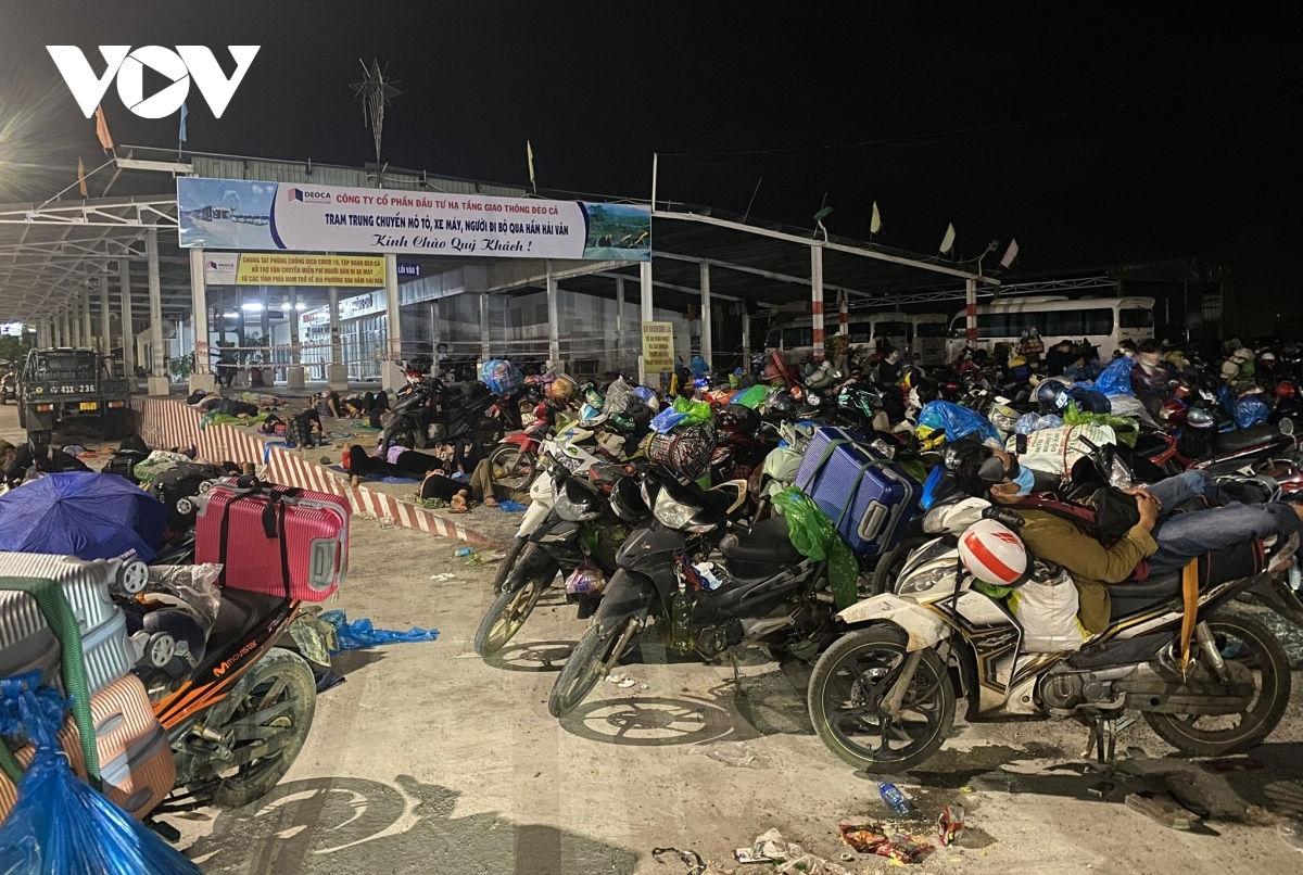 Warm Love of Motorbike Riders on Journey Home