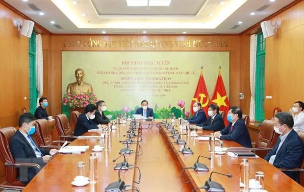 Vietnamese, Chilean Parties Strengthen Cooperation