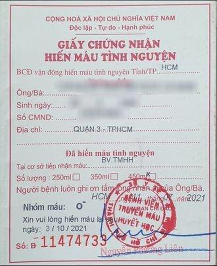 HCMC Expats Donates Blood Amid Covid 19 Lockdown