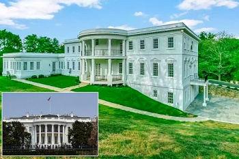 Vietnamese American Has White House Replica For Sale