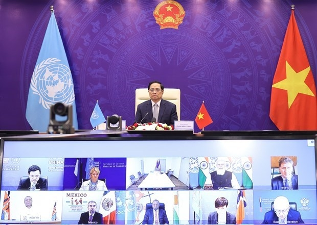 PM: Maritime Security Issue Needs Global Solution