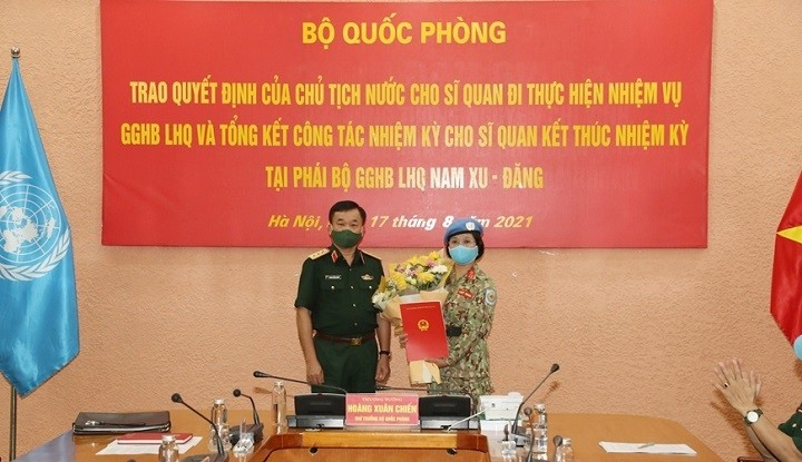 Another Vietnamese Female Officer Assigned to UN Peacekeeping Mission