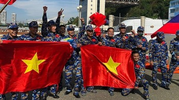 Vietnam People's Navy Team Wins Silver at Army Games 2021