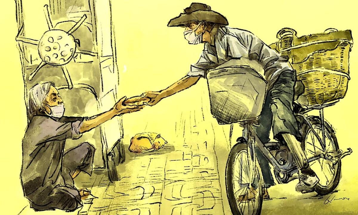 'Banh Mi Song' Brings 'Special Love' to Struggling Ho Chi Minh City