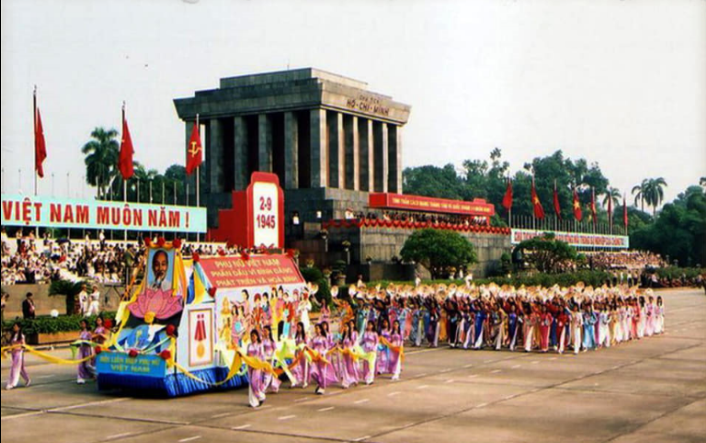 National Independence Day in Vietnam through the years