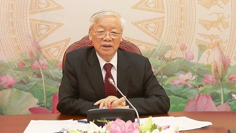 Party General Secretary and President Nguyen Phu Trong