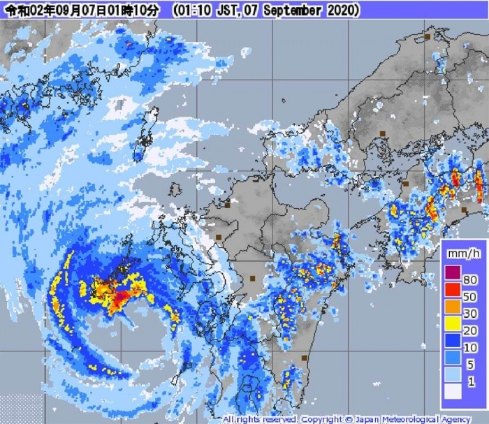 japan and south korea on high alert as typhoon haishen takes its toll