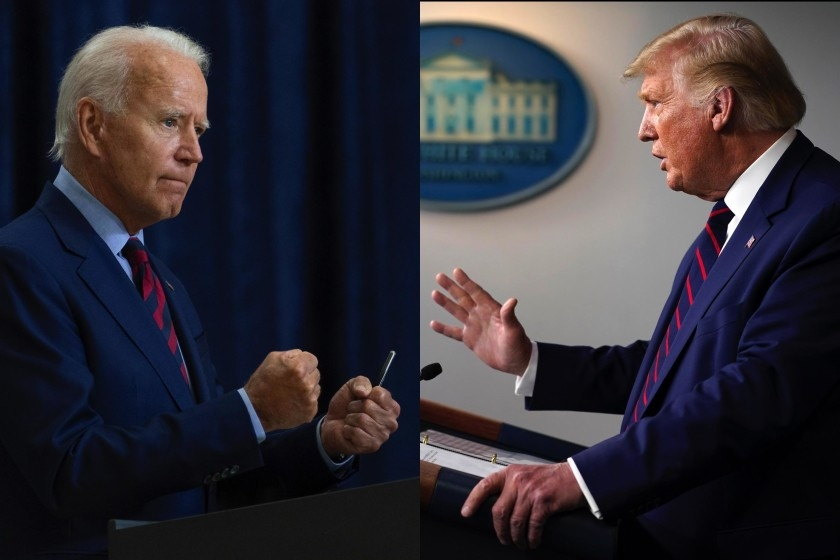 Biden and Trump go on the offensive as U.S. campaign enters final stretch