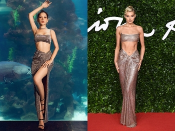 Victoria's Secret models' styles and allegedly Vietnamese celebs copycats