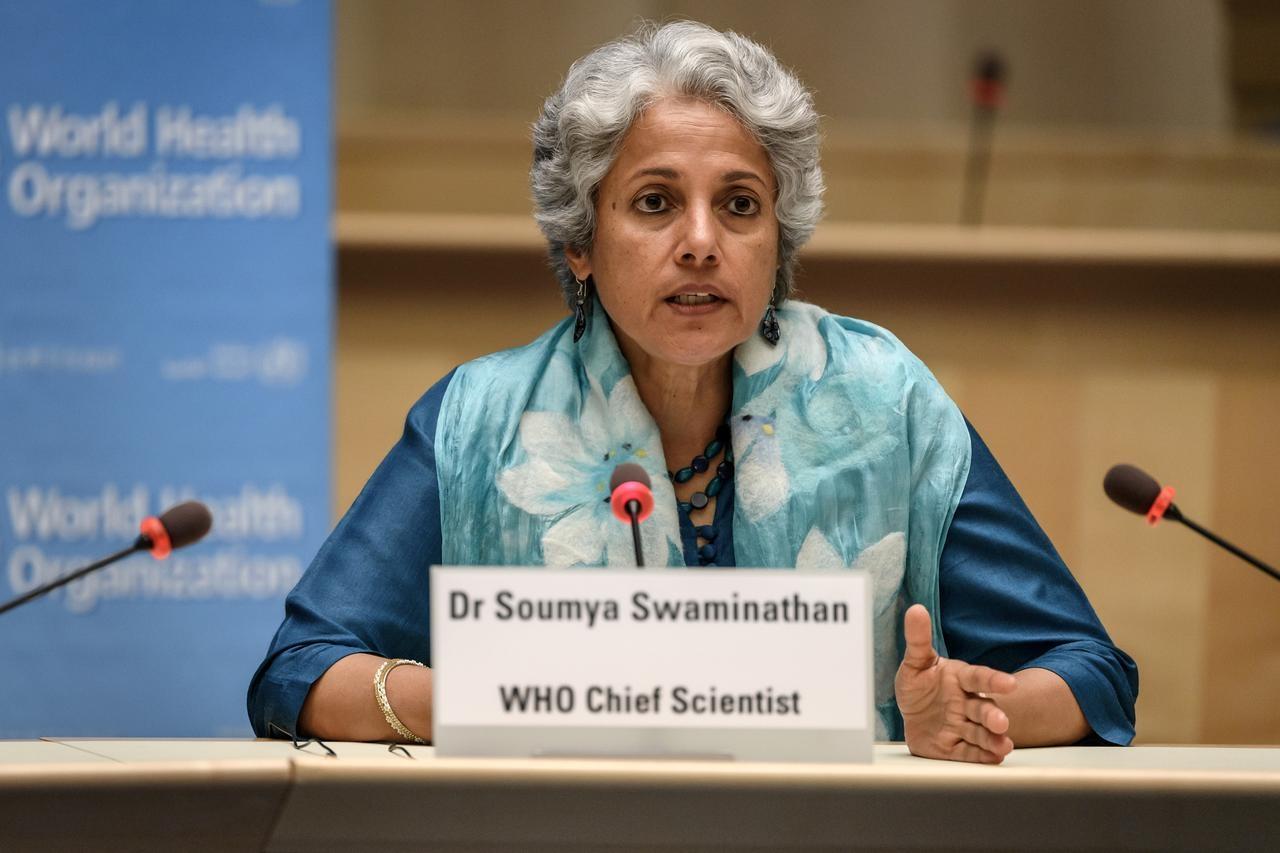 Dr. Soumya Swaminathan. WHO Chief Scientist