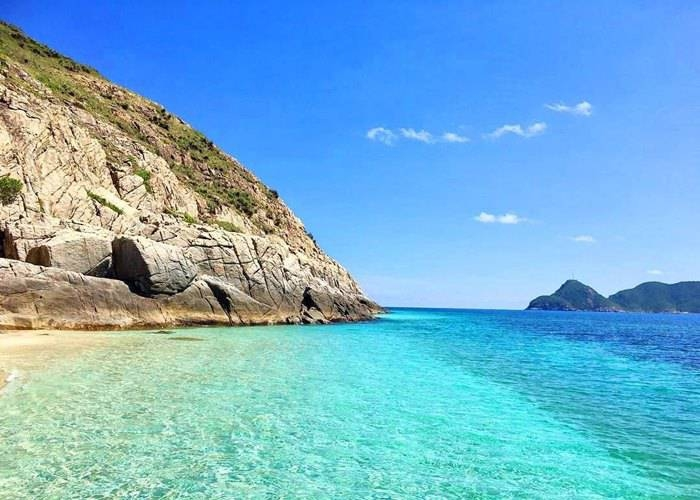 Con Dao boasts pristine beaches with crystal-clear water
