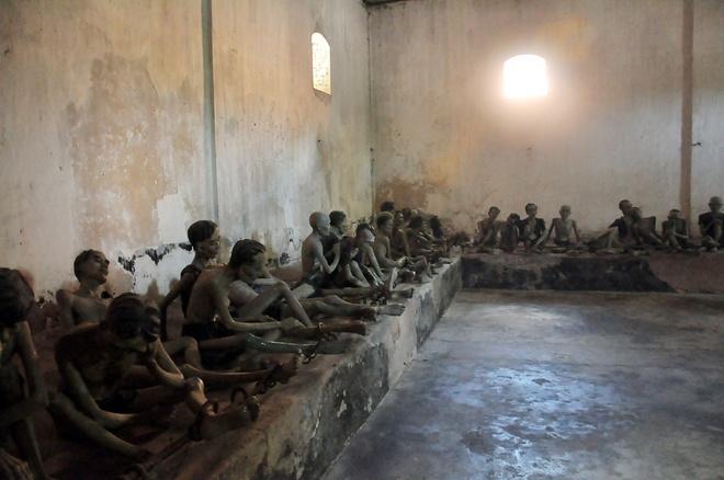 Inside COn Dao prison