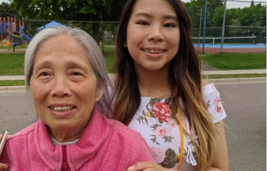 80 year old vietnamese canadian cursed and thrown rocks at in her house