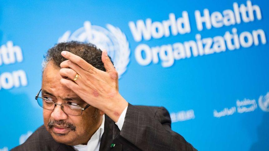 WHO General Director Tedros Adhanom Ghebreyesus