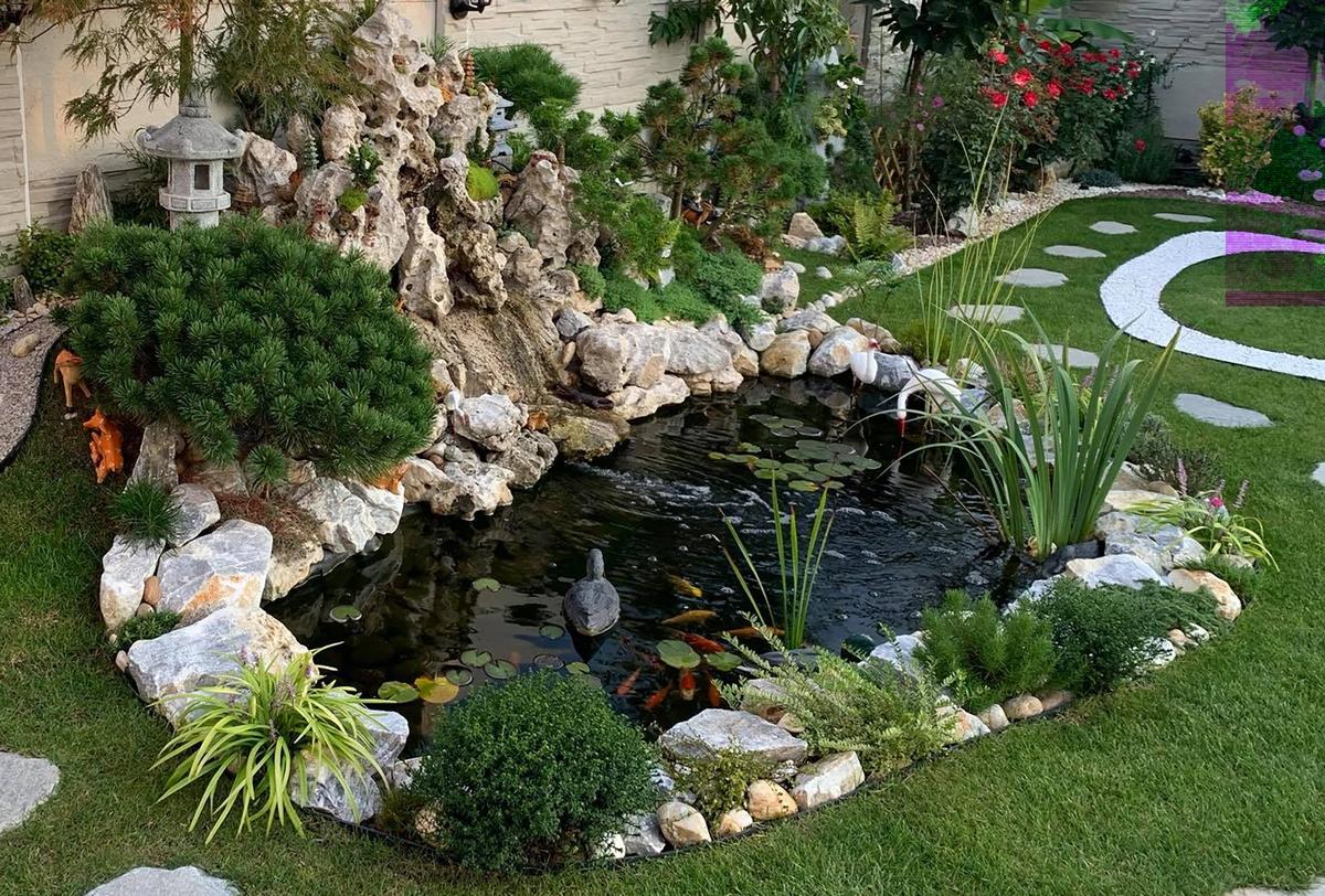 A Vietnamese garden in the midlle of Slovakia