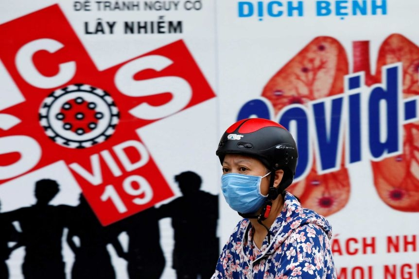 """""""Vietnam is no stranger to infectious diseases, meaning its citizens quickly knew what to do"""", the article says"""